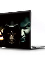"""Недорогие -MacBook Кейс Черепа / Мультипликация ПВХ для MacBook Pro, 13 дюймов / MacBook Pro, 15 дюймов с дисплеем Retina / New MacBook Air 13"""" 2018"""