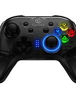 abordables -Contrôleurs de jeu sans fil gamesir t4 pour android / pc / ios, support fortnite, contrôleurs de jeu bluetooth portables / cool abs unité 1 pcs