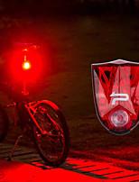 baratos -Luzes da cauda LED Luzes de Bicicleta Ciclismo Impermeável, Libertação Rápida Bateria Recarregável Lithium-ion 150 lm Vermelho Ciclismo - PROMEND