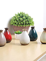 abordables -Fleurs artificielles 0 Une succursale Classique / Simple Rétro Vase Fleur de Table