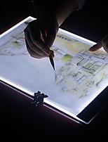 Недорогие -BRELONG® 1шт LED Night Light Белый USB Для детей / Диммируемая / Простота транспортировки 5 V
