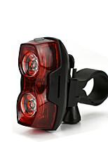 baratos -Luz Traseira Para Bicicleta LED Luzes de Bicicleta LED Ciclismo Anti-Choque, Libertação Rápida, Leve Li-Ion 100 lm AAA Vermelho Campismo / Escursão / Espeleologismo / Ciclismo / Pesca