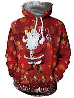 Недорогие -Вдохновлен Косплей Косплей Аниме Косплэй костюмы Косплей толстовки Рождество Толстовка Назначение Муж. Костюмы на Хэллоуин
