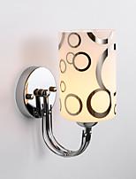 baratos -Estilo Mini Simples / Moderno / Contemporâneo Luminárias de parede Sala de Estar / Quarto Metal Luz de parede 110-120V / 220-240V 60 W