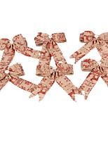 Недорогие -Праздничные украшения Рождественский декор Рождественские украшения Милый Золотой / Красный 2pcs