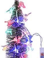 Недорогие -2,5м Гирлянды 20 светодиоды Разные цвета Декоративная Аккумуляторы AA 1 комплект