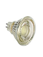 billiga -1st 5 W 450 lm MR16 LED-spotlights T45 1 LED-pärlor COB Julbröllopsdekoration Varmvit / Vit 12 V