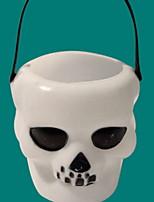 abordables -Décorations de vacances Décorations d'Halloween Halloween Créatif Blanc 1pc