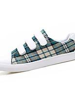 Недорогие -Муж. Комфортная обувь Полиуретан Осень Кеды Коричневый / Красный / Зеленый