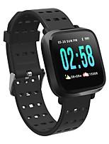 Недорогие -iPS GY8 Смарт Часы Android iOS Bluetooth GPS Водонепроницаемый Пульсомер Измерение кровяного давления Сенсорный экран / Израсходовано калорий / Длительное время ожидания / Таймер / Педометр