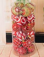 Недорогие -Орнаменты Праздник PVC Для вечеринок Рождественские украшения