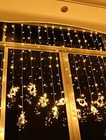 baratos -10m Cordões de Luzes 1600 LEDs Branco Quente Decorativa 220-240 V 1conjunto