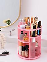 Недорогие -Место хранения организация Косметологический макияж пластик Круглые Многослойный