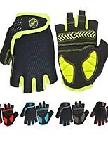 baratos -Luvas Esportivas Luvas de Ciclismo Respirável / Vestível / Anti-Derrapante Sem Dedo silica Gel Ciclismo / Moto Homens / Mulheres