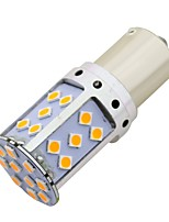 abordables -SO.K 2pcs BA15S (1156) / 1156 Automatique Ampoules électriques 21 W SMD 3030 1800 lm 35 LED Clignotants / Moto / Accessoires Pour Universel Toutes les Années