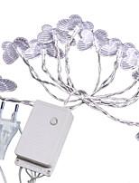billiga -5m Ljusslingor 20 lysdioder Varmvit Dekorativ 220-240 V 1set
