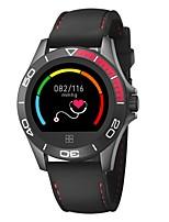 abordables -Montre Smart Watch Bracelet à puce YY-CK21 pour Android iOS Bluetooth Sportif Imperméable Moniteur de Fréquence Cardiaque Mesure de la pression sanguine Ecran Tactile Chronomètre Podomètre Rappel
