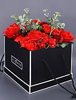 abordables -Fleurs artificielles 1 Une succursale Classique / Simple Elégant / Moderne Roses Fleur de Table