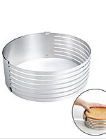 Недорогие -Инструменты для выпечки Нержавеющая сталь Творческая кухня Гаджет Торты Круглый Формы для пирожных 1шт