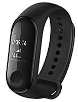 Недорогие -Оригинал xiaomi mi band 3 умный браслет фитнес-браслет большой сенсорный экран oled сердечного ритма smartband