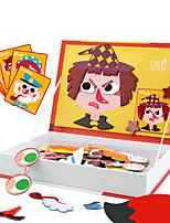 Недорогие -Магнитные плитки 1 pcs Cool утонченный Взаимодействие родителей и детей Все Игрушки Подарок