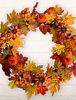 Недорогие -Праздничные украшения Рождественский декор Рождественские украшения Декоративная Оранжевый 1шт