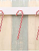 Недорогие -Праздничные украшения Рождественский декор Рождество Декоративная Красный 6шт