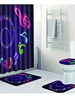 Недорогие -1 комплект Modern Коврики для ванны 100 г / м2 полиэфирный стреч-трикотаж Новинки Прямоугольная Ванная комната Cool