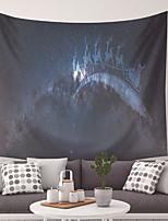 Недорогие -Прямоугольник Декор стены 100% полиэстер Modern Предметы искусства, Стена Гобелены Украшение