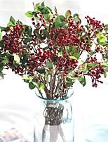 Недорогие -Искусственные Цветы 1 Филиал Классический Пастораль Стиль Pастений Букеты на стол