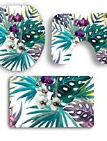 Недорогие -3 предмета Modern Коврики для ванны 100 г / м2 полиэфирный стреч-трикотаж Креатив / Животное нерегулярный Ванная комната Cool