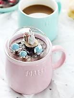 Недорогие -Drinkware Фарфор Необычные чашки / стаканы Подруга Gift / Милые 1 pcs