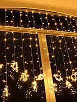 abordables -6m Guirlandes Lumineuses 600 LED Blanc Chaud Décorative 220-240 V 1 set