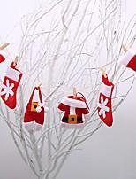 baratos -Acessório para Fantasia Nãotecidos Decorações do casamento Natal / Festa / Noite Natal / Criativo / Tema vintage Todas as Estações