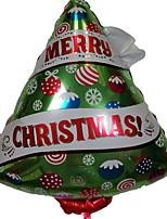 Недорогие -Праздничные украшения Рождественский декор Рождество Декоративная Изумрудно-зеленый 1шт
