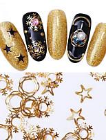 abordables -1 pcs Bijoux pour ongles Classique / Meilleure qualité Noël Etoile Manucure Manucure pédicure Noël / Fête / Soirée / Bureau / Carrière Artistique / Lolita Aristocrate