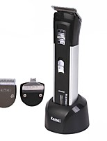 Недорогие -Kemei Триммеры для волос для Муж. и жен. 220 V / 230 V Защита от влаги / Низкий шум / Влажная чистка