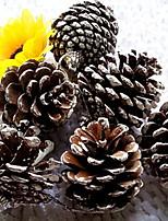 Недорогие -Праздничные украшения Рождественский декор Рождественские украшения Декоративная Шоколадный 6шт