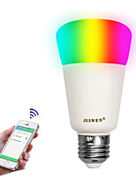 Недорогие -zigbee led bulb lamps e27 rgbw смарт-приложение управление 16 миллионов цветов 9w dimmable интеллигентное освещение