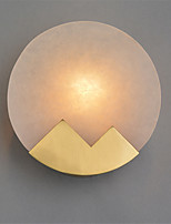 abordables -nord de l'europe moderne galvanoplastie applique murale en marbre marbre mini lampe murale salon salle à manger café e12 / e14 ampoule base
