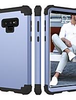Недорогие -BENTOBEN Кейс для Назначение SSamsung Galaxy Note 9 Защита от удара Чехол Однотонный Твердый Силикон / ПК для Note 9