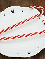 Недорогие -Праздничные украшения Рождественский декор Рождество Для вечеринок Красный 6шт