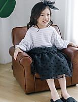 Недорогие -Дети Девочки С принтом Длинный рукав Набор одежды