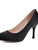 Недорогие -Жен. Комфортная обувь Полиуретан Весна Обувь на каблуках На шпильке Черный / Бежевый / Красный