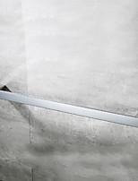 abordables -Barre porte-serviette Design nouveau / Cool Moderne Acier inoxydable 1pc Barre à 1 serviette Montage mural