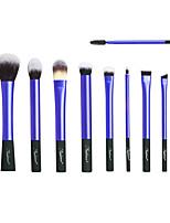 Недорогие -10 шт. Кисти для макияжа профессиональный Наборы кистей синтетический Пластик