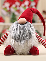 abordables -Décorations de vacances Décorations de Noël Décorations de Noël Décorative Gris / Rouge 1pc