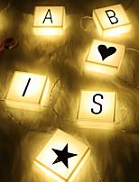 Недорогие -Светодиодные фонарики Полиэстер Свадебные украшения Свадебные прием / фестиваль Праздник / Свадьба Все сезоны