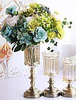 abordables -Fleurs artificielles 0 Une succursale Classique / Simple Rétro / Européen Vase Fleur de Table