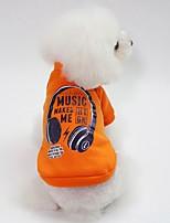 baratos -Cachorros Moletom Roupas para Cães Personagem Azul / Rosa claro / Verde Escuro Algodão Ocasiões Especiais Para animais de estimação Unisexo Casual / Aquecimento